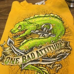 T-shirt One Bad Attitude XS Boys